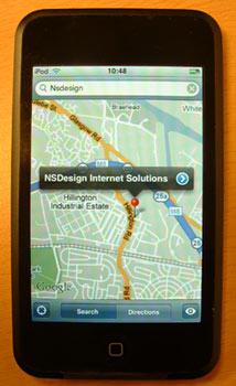 Ipod - Google Maps