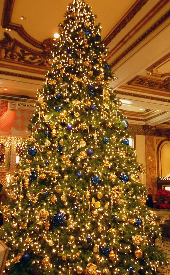 Xmas Tree San Francisco, St Francis Hotel