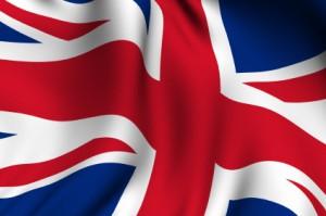 Rendered British Flag