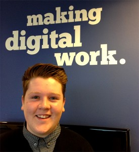 Jonny - web design apprentice
