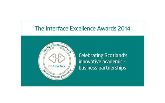 Finalist in the Knowledge Exchange category at the 2014 Interface Excellence Awards