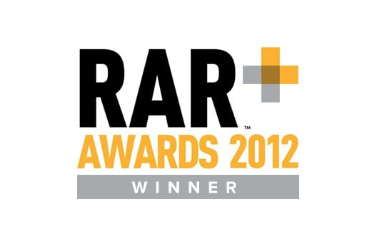 Winner of the RAR 'Best in Value for Money' and 'Best in Effectiveness' categories.