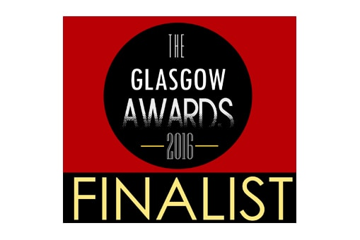 Finalist in the 'Best Small Business' category at the Glasgow Business Awards