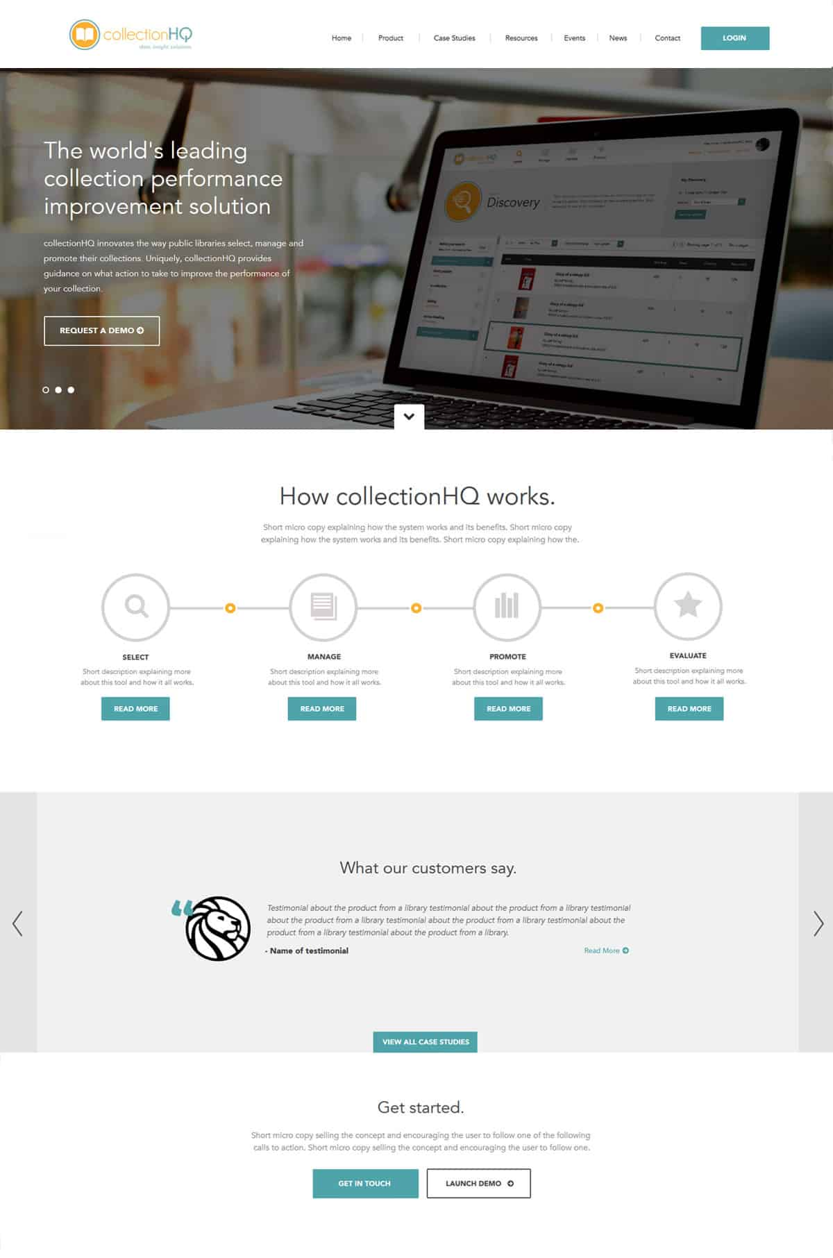 collection HQ - Design and Development | Wordpress | Illustration | App Development