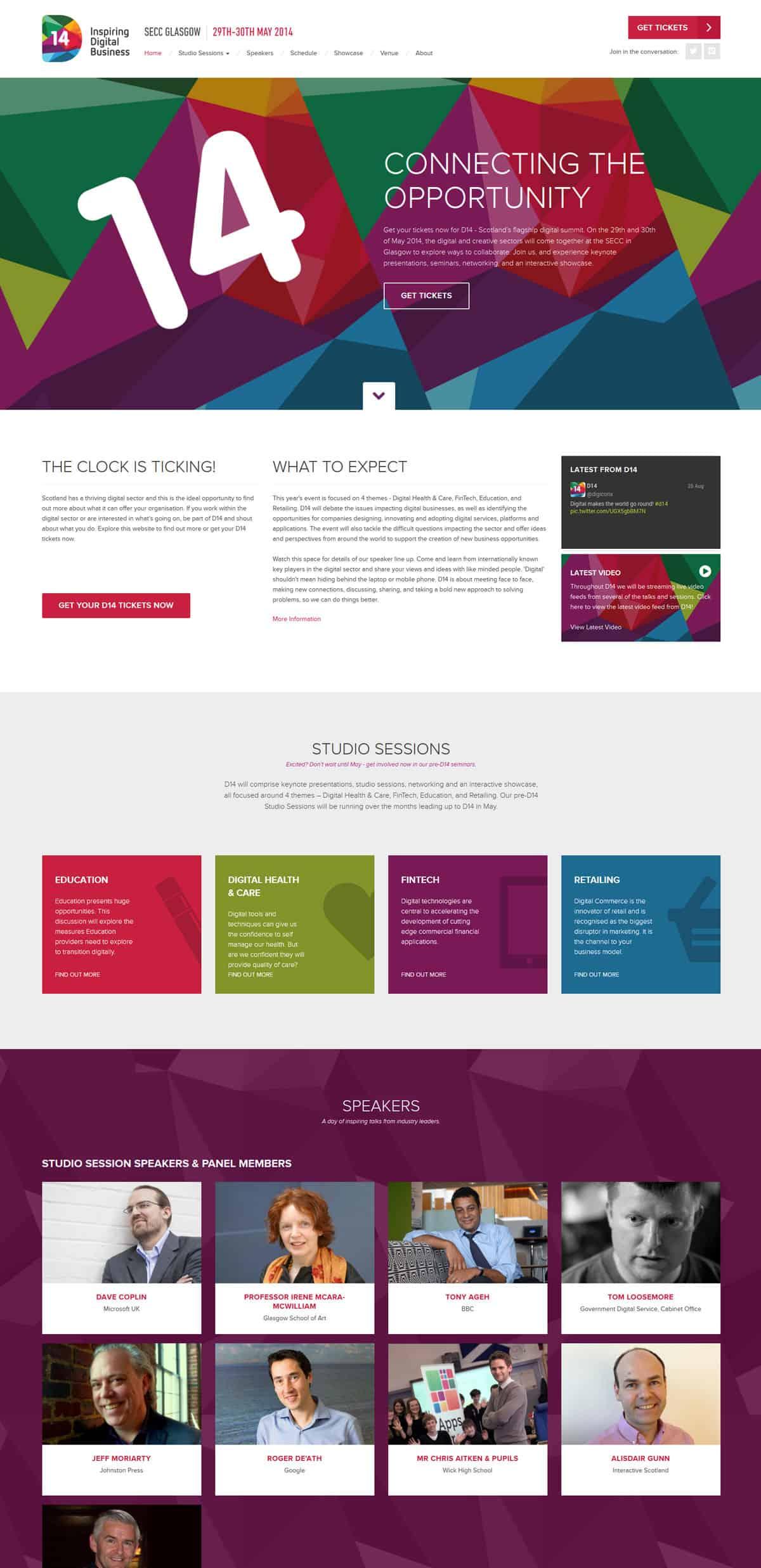 Digital 14 - User Experience | Wordpress | Illustration