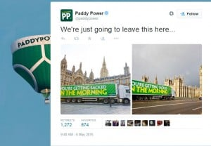 PaddyPower Twitter