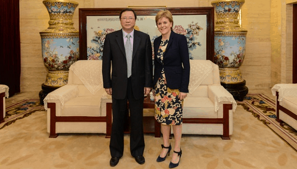 scotland business in china