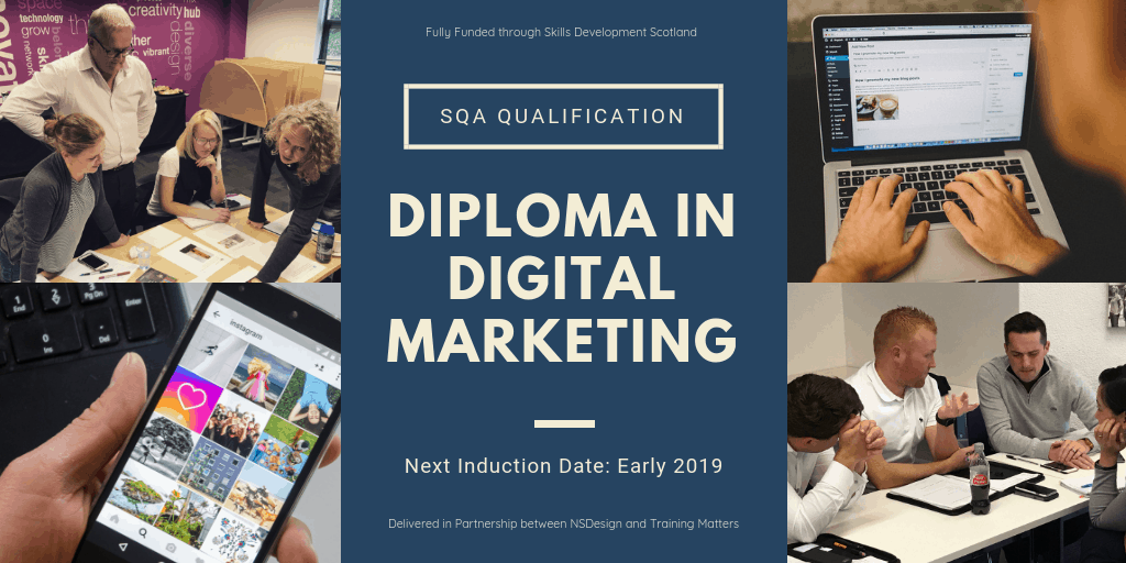 SQA Diploma in DIgital Marketing
