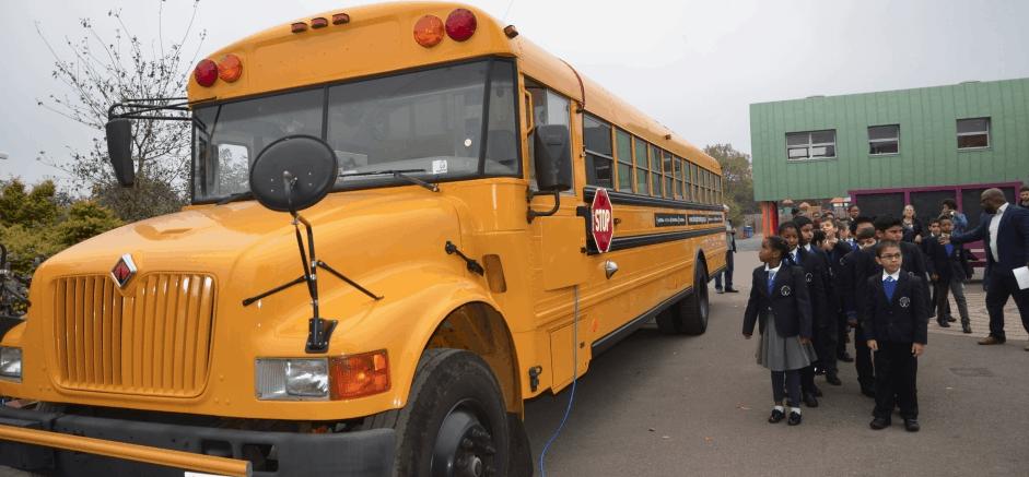 The IDEAS Bus - teaching UK kids digital skills