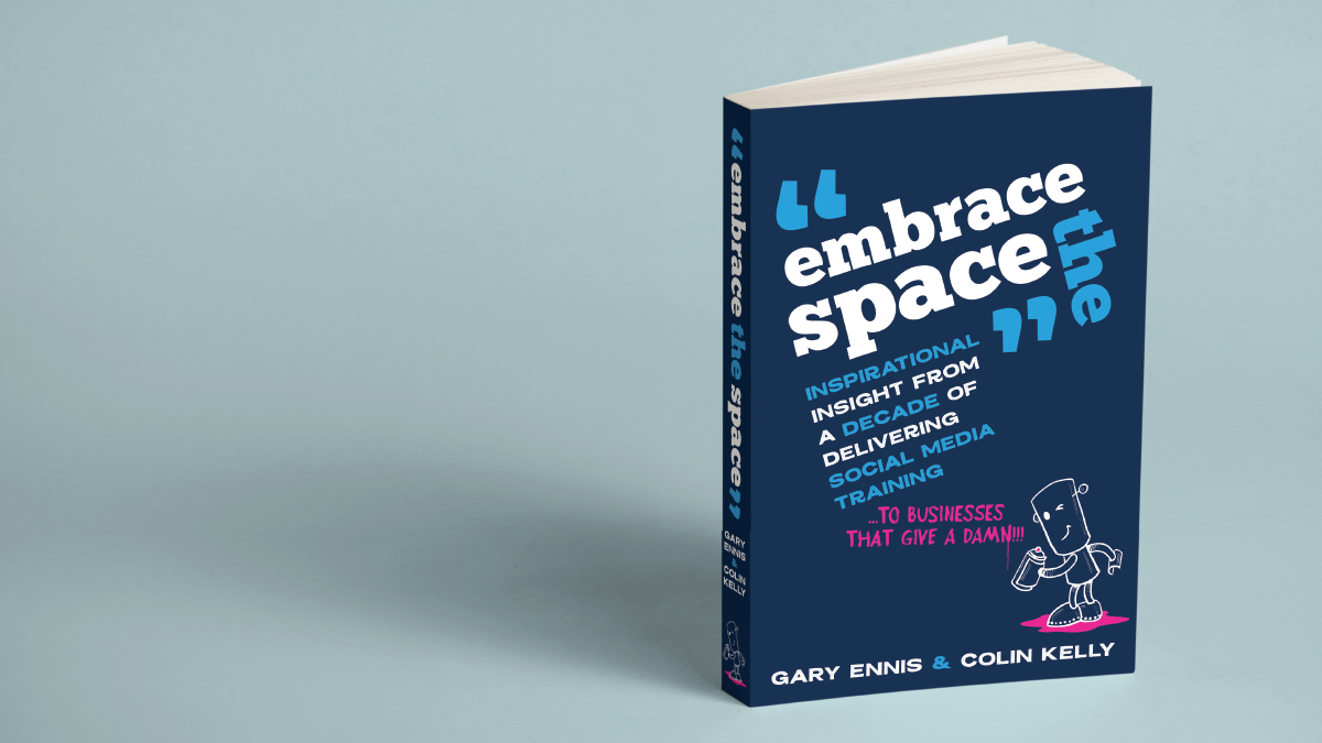 Embrace the Space - social media for business book